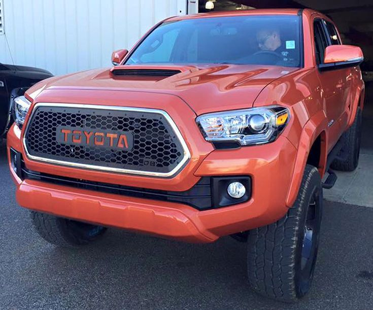 DB Customz 2016+ Tacoma Grille Insert [16TACV117] - $466.65 : Pure Tacoma Accessories, Parts and Accessories for your Toyota Tacoma