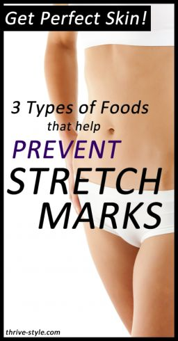 There are specific foods shown to prevent stretch marks by nourishing the skin and improving elasticity. Once you have stretch marks, there isn't much you can do about them... but what you eat has a great impact on whether or not you get them in the first place! Learn about the easy ways you can prevent stretch marks.