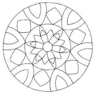 lots of mandala templates for seed art