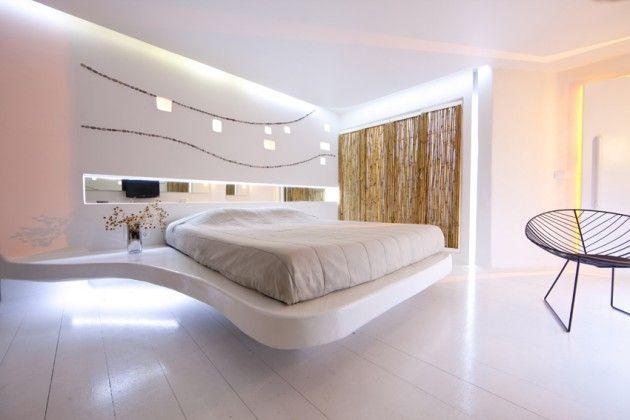 Nolte Delbruck Slaapkamers : Futuristic Hotel Design Bedroom