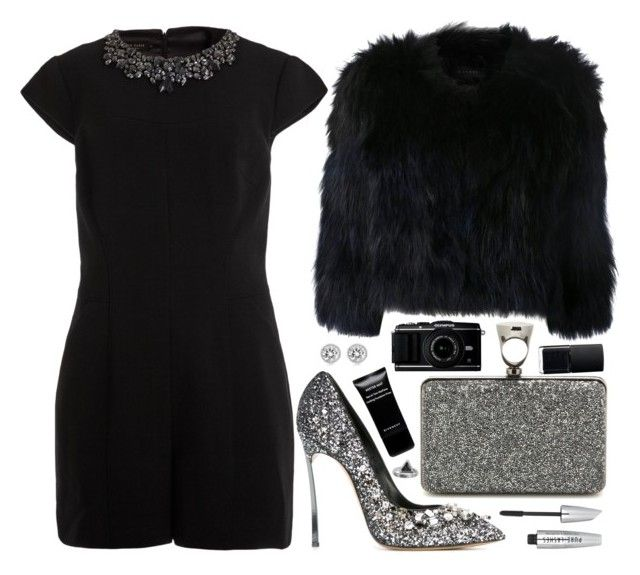 """""""NEW YEARS EVE NIGHT"""" by queen-laureen ❤ liked on Polyvore featuring H Brand, Ted Baker, Casadei, Tom Ford, NARS Cosmetics, Givenchy, Zoemou and Michael Kors"""