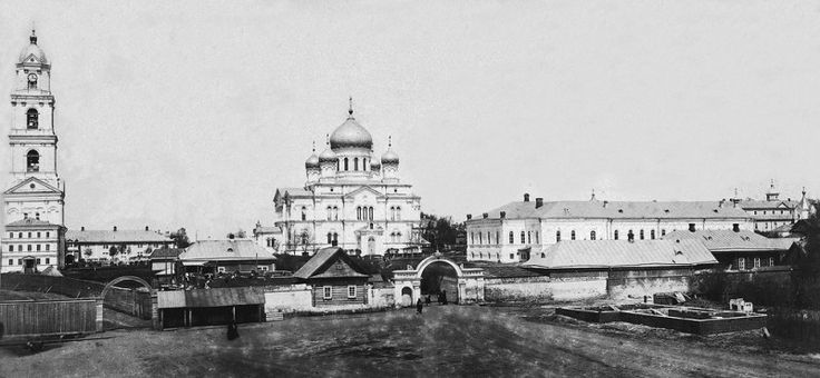View of the St. Seraphim-Diveyevo Monastery, from the southern side