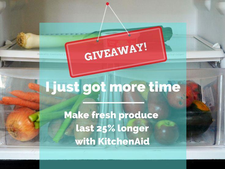 Family Feedbag: WIN a KitchenAid Produce Preserver + grocery money!