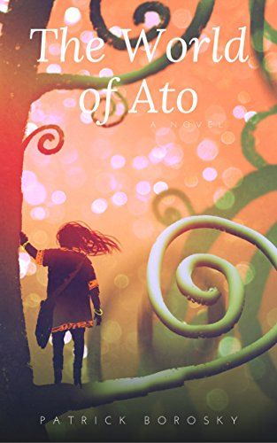 The tiny dragon opens the door that leads Ato into her art and into a world of her own creation.