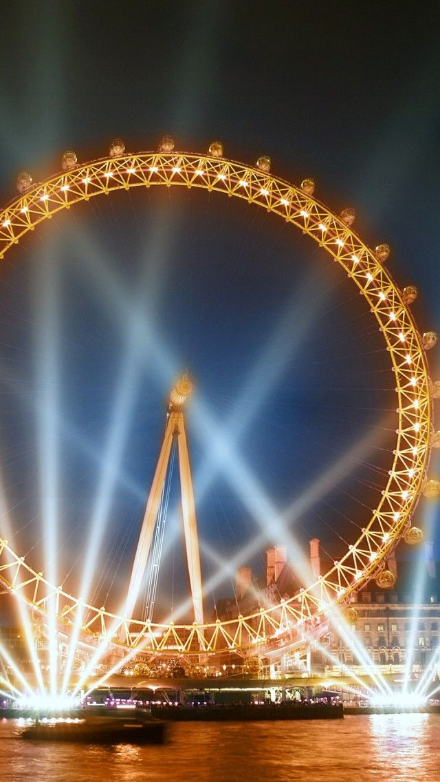 """The The London Eye - """"Built in 1999, it is a recent addition to the London skyline, and is very popular amongst the tourists."""""""