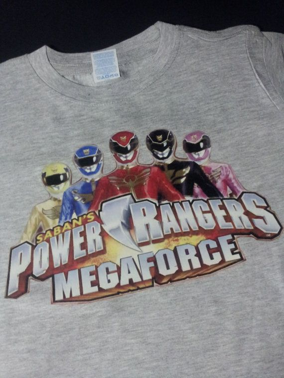 Power Rangers MegaForce t-shirt