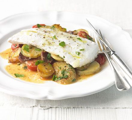 I'm making this for dinner tonight, but with cod instead of haddock.  Think I'll add some sliced red onion as well.