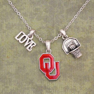 Finely crafted, this wonderful necklace will make a great addition to any Sooner fan's jewelry collection. Buy for yourself or as a great gift for family and friends! This wonderful necklace is OFFICI