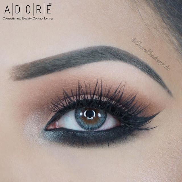 Thanks to @shannelsmakeuplooks for wearing Adore Bi Aqua by Natural bi tone collection.  ======================  How to order our Coloured contact lenses:  www.adorelenses.com  ======================  Customer service:  Please fill in the form   https://adorelenses.com/en/index.php?controller=contact ======================  Adore Lenses are 3 months disposable.   With or without prescription available. From -16.00 to 0.00 and from 0.00 to +10.00
