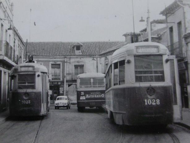 Tranvias de Madrid en Carabanchel Bajo, fotografo desconocido