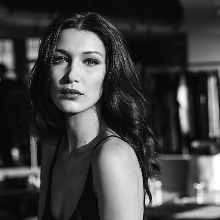 bel-hadid: Bella Hadid behind the scenes of a Dior Makeup photoshoot