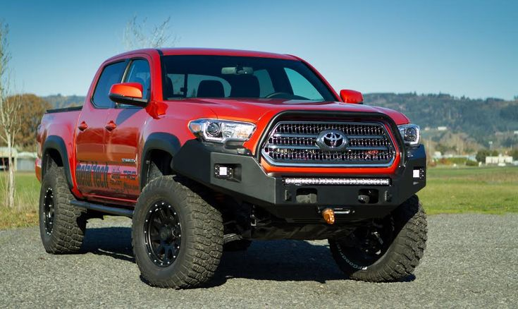 **NEW** Metal-Tech 2016 Tacoma Front Winch Bumper - Click Image to Close
