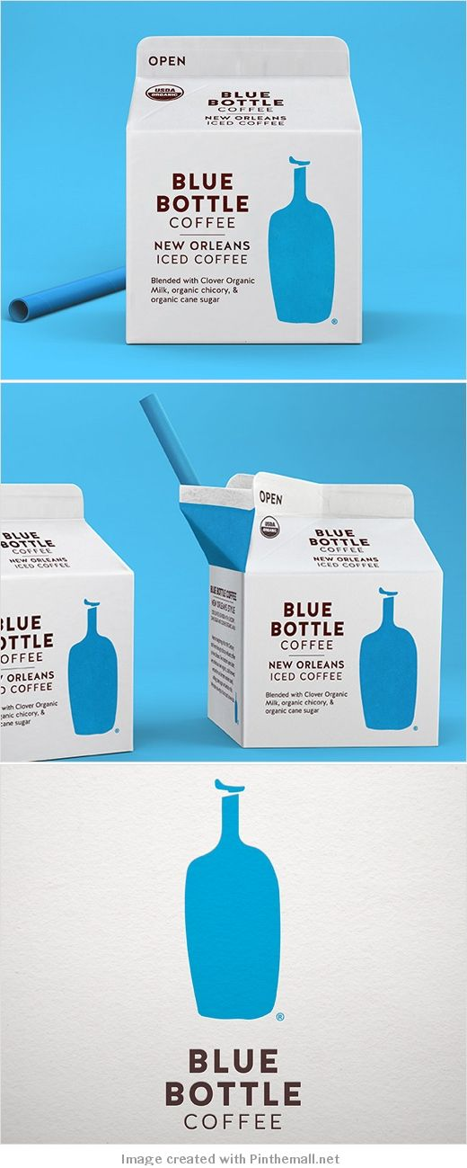 Blue bottle coffee rebranded by Pearlfisher packaging curated by Packaging Diva PD created via http://www.logo-designer.co/pearlfisher-creates-new-look-for-blue-bottle-coffee-logo-packaging-design/