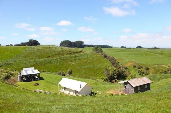 Ridge Top Farm, Manawatu » Canopy Camping