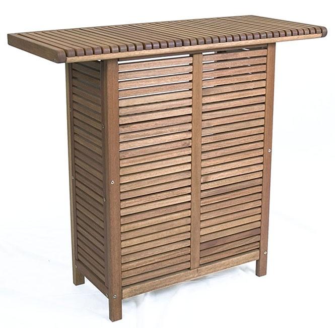 Eucalyptus wood Bar Counter