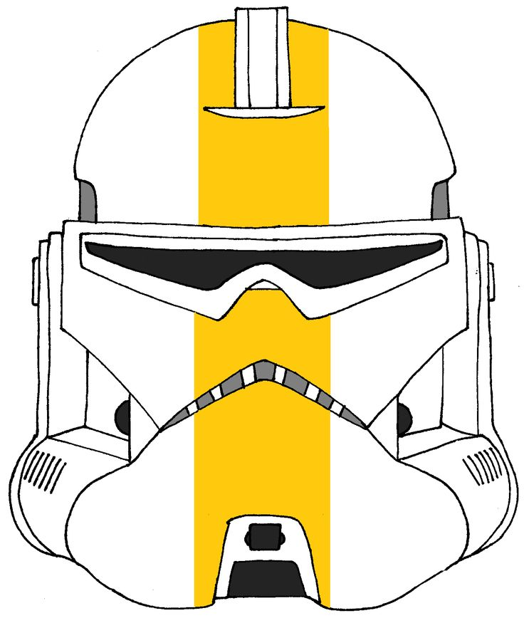 Clone Trooper Helmet Choi's Battalion