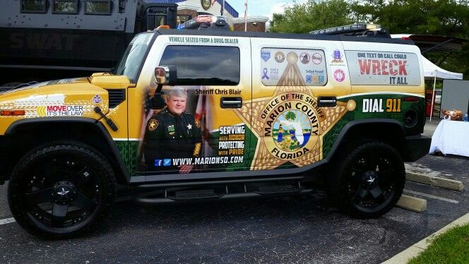 Confiscated Hummer Marion County Sheriff