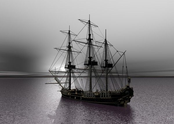 Sailing Along the Cold Sun