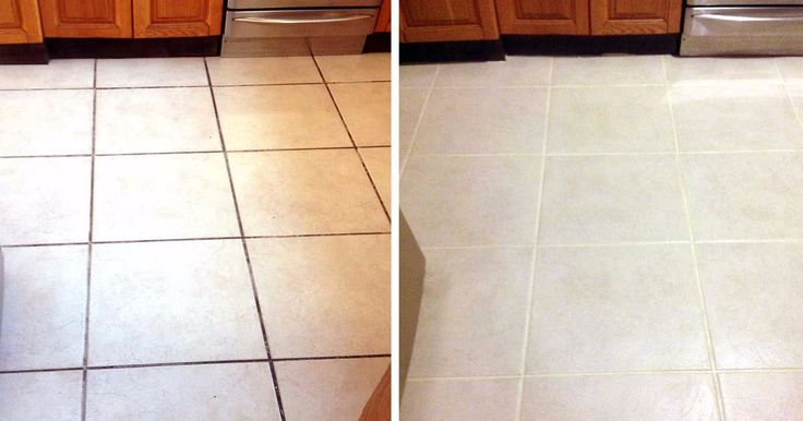 Ditch the harsh chemicals for these easy all-natural mixtures and get your grout looking sparkly clean.
