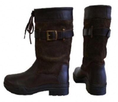 Outdoor leren laars stoer model Hampton Lees meer in onze blog http://www.paardensport-shop.nl/outdoor-laarzen/