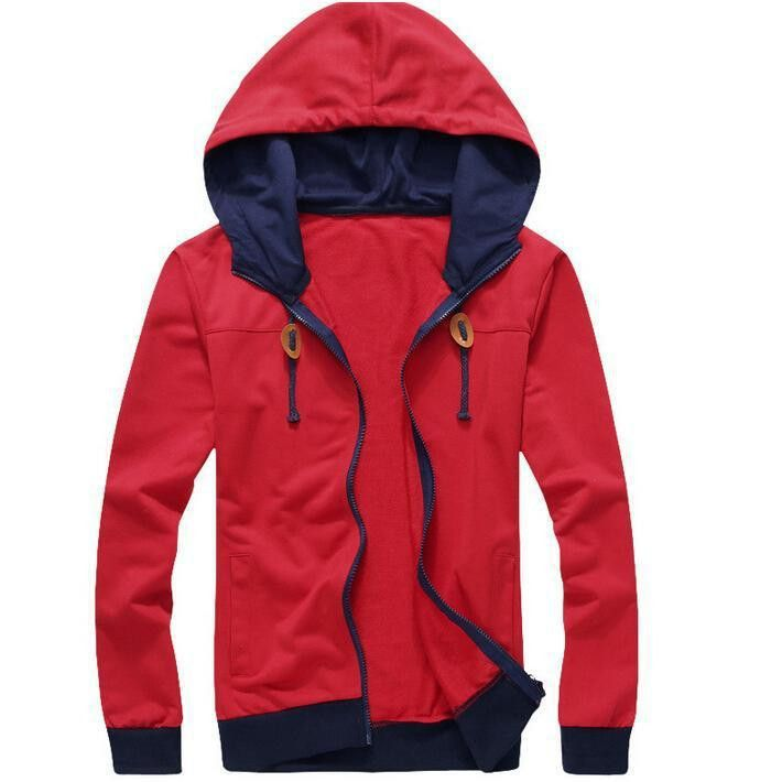 2015 New Arrival Casual Men Hoodies Brand Leisure Suit Fleece Hoodie Jackets Men Sportswear Sweatshirt 4 Colors M-XXL