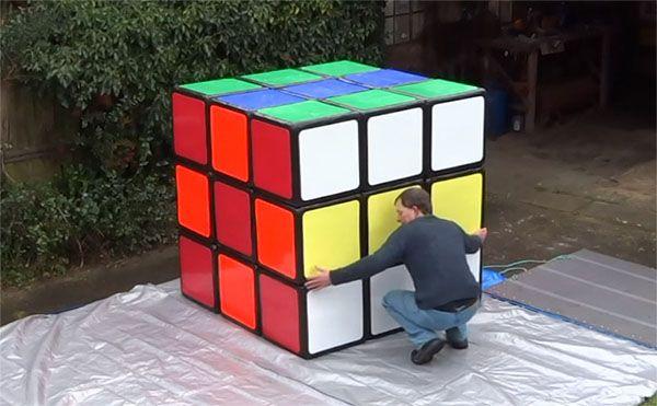 El cubo de Rubik más grande del mundo