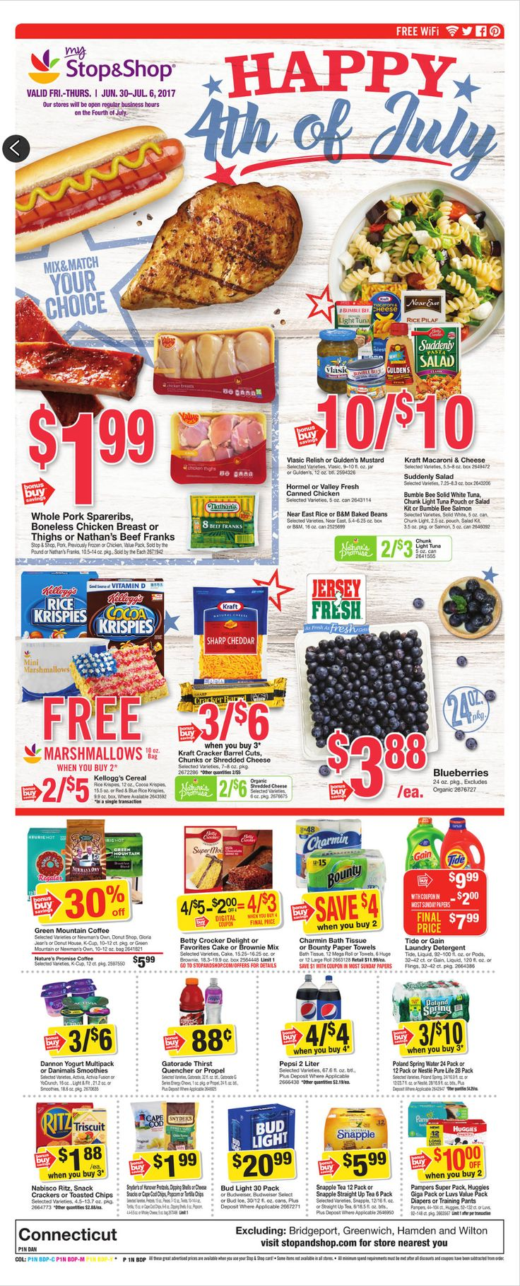 Stop and Shop Circular June 30 - July 6, 2017 - http://www.olcatalog.com/grocery/stop-and-shop-circular.html