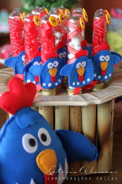 Tubetes da Galinha Pintadinha para festa infantil | Festas | Madame Inspiração