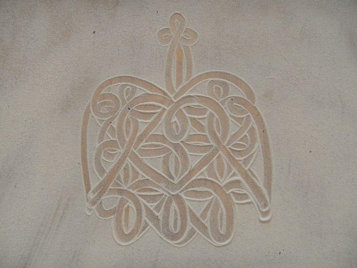 vanuatu turtle sand drawing - Google Search