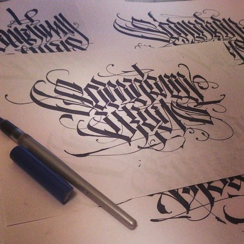 17 Best Images About Penmanship Calligraphy On