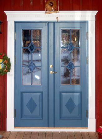 Bilder på Pardörrar, Ytterdörrar | www.allmoge.se