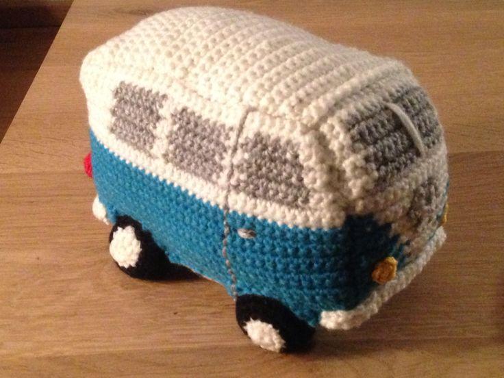 Gehaakte Volkswagenbus