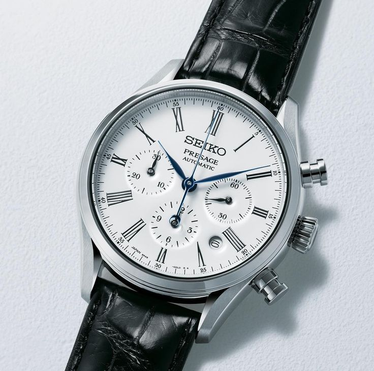 Seiko Presage enamel collection.  The distinctive look and the remarkable value offered by the collection both stem from the quality of the manufacture.   #Presage #Enamel #Chronograph #Seikowatchofficial #Seiko #manufacture #SRQ023 #watch #watches    http://www.seiko-presage.com/  Ref. SRQ023