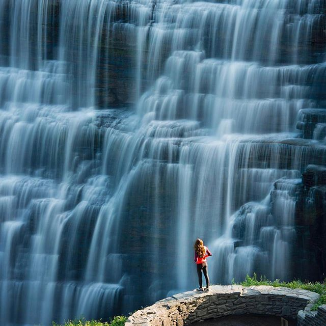 Letchworth state park, New York.  Photo by @travisburkephotography  Explore. Share. Inspire: #EarthFocus