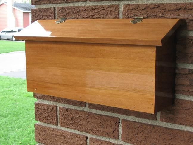 Mailbox Woodworking Plans