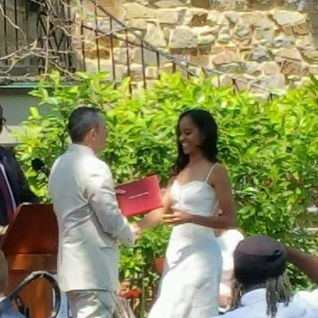 Malia Obama, the President & First Lady's daughter, graduated from Sidwell Friends School today Friday June 10, 2016