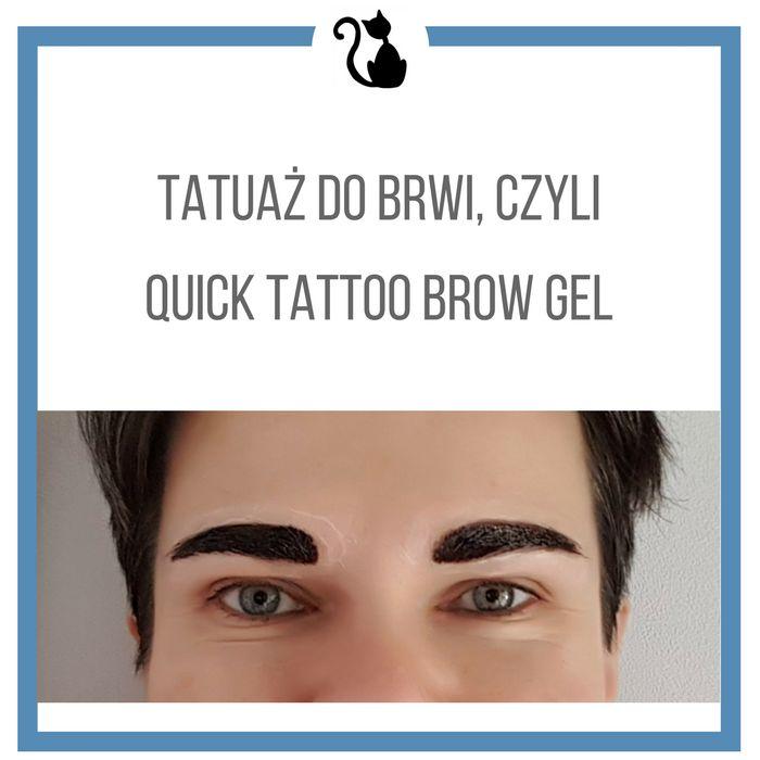 Kociamber w podróży: Tatuaż do brwi w żelu, recenzja