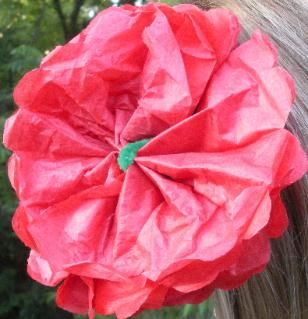 Mexican Crafts - Mexican paper flowers are very popular in Mexico