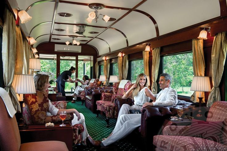 Rovos Rail lounge car