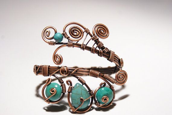 Hey, I found this really awesome Etsy listing at http://www.etsy.com/listing/123268871/turquoise-bracelet-wire-wrapped-jewelry