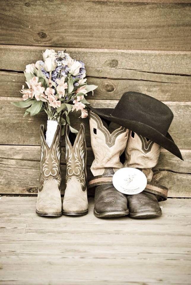 Wedding Boots. Cute cute!!