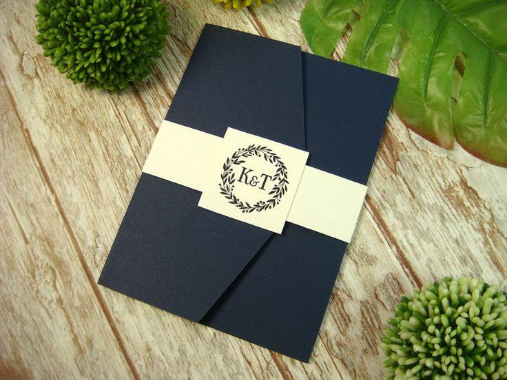 zaproszenie ślubne w folderze G5