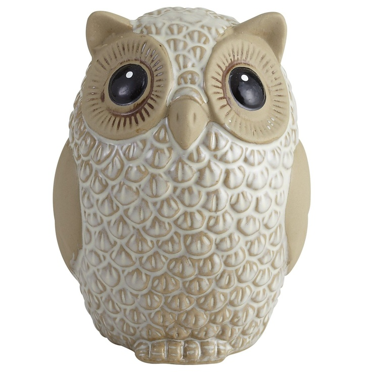 Pier 1 Owl Figure looks cute in any display