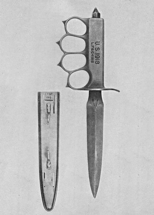 """1773in2015: """" trench knife/knuckleduster """""""