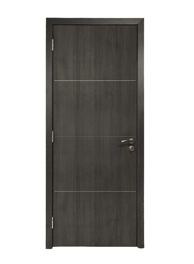 Porta Vega em MDF com revestiemento em PVC. Altura de 210cm largura disponíveis de 70cm ou 80cm. Isolamento térmico e acústico. Acompanha fechadura, maçanetas, dobradiças, marco com 9/10cm ou ajustável de 14 à 18cm, guarnição e batentes de borracha. Cores disponíveis: branca, wenge texturizado, carvalho e marron madeira - OnLine Atelier - Loja Virtual - (54) 9165-9726 - onlineatelier@hotmail.com -