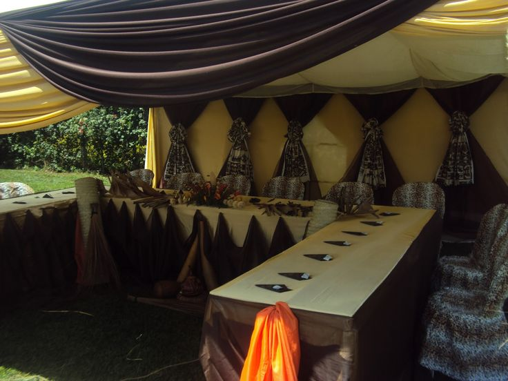 African Wedding Decorations: 10 Best African Wedding Deco Images On Pinterest