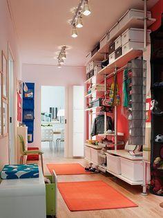 Fancy Begehbare Kleiderschr nke f r gro e R ume Universal einsetzbar Aufbewahrungssystem Stolmen von Ikea