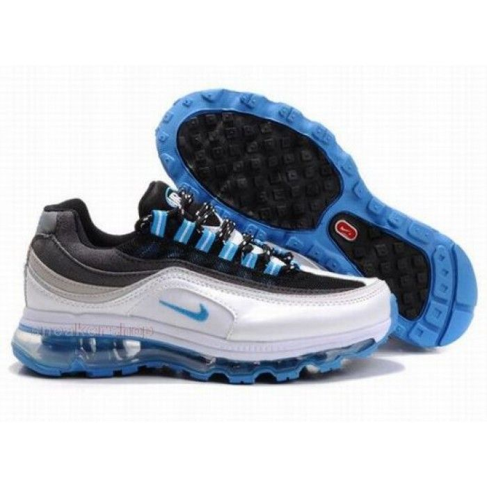 #Nike #sports Nike Shox Shoes, Nike Womens Shoes Buy Nike Air Max 24 7 Womens Black Blue White 69