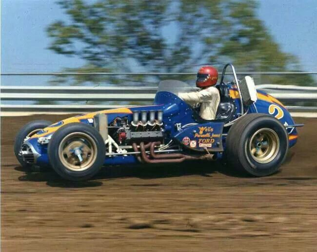 Al.Unser #2 Johnny Lightning  This car also raced at the Pikes Peak Hill Climb race with that amazing engine