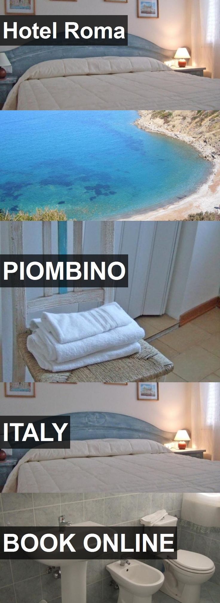 Hotel Roma in Piombino, Italy. For more information, photos, reviews and best prices please follow the link. #Italy #Piombino #travel #vacation #hotel